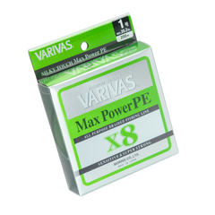 VARIVAS Max Power PE X8 200m #0.8 lime Green