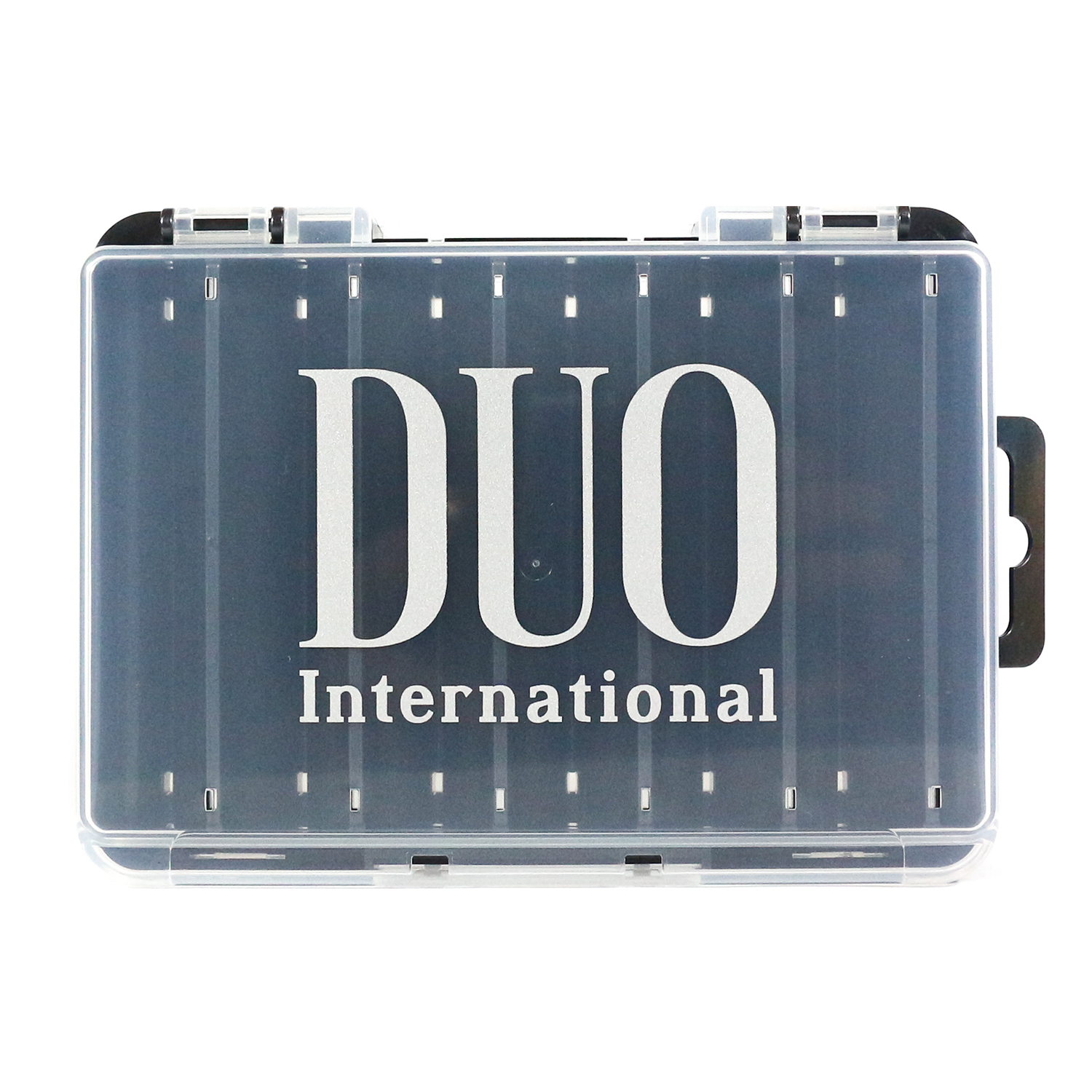 DUO Reversible lure case 140 pearl black/clear